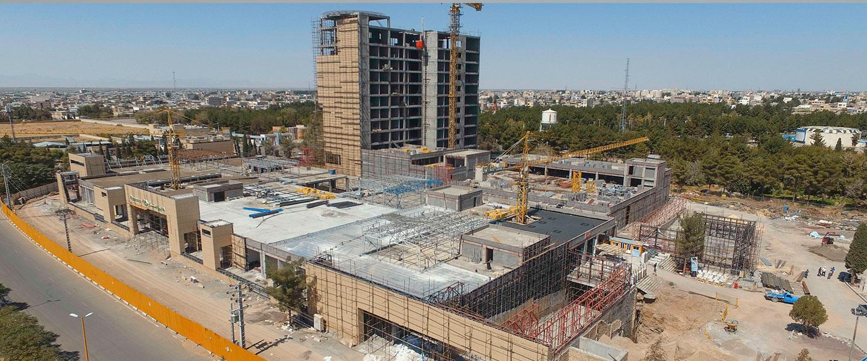 پروژه هتل سیرجان (شرکت تندیس تجارت باختر)